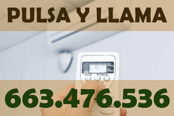 revisión aire acondicionado fujitsu en Málaga